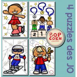 Puzzles - Jeux Olympiques