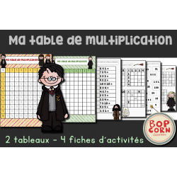 Harry Potter - Ma table de multiplication
