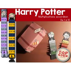 Multiplications Accordéon - Harry Potter