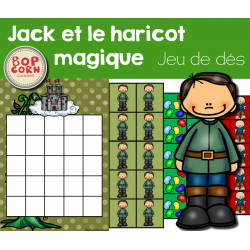 Jack et le haricot magique - Jeu de dés