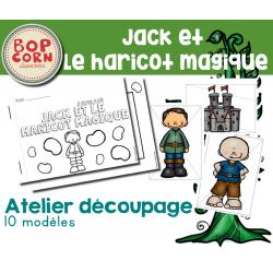 Atelier découpage - Jack et le haricot magique