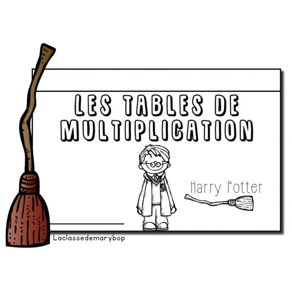 Harry Potter Multiplications - Flipbook