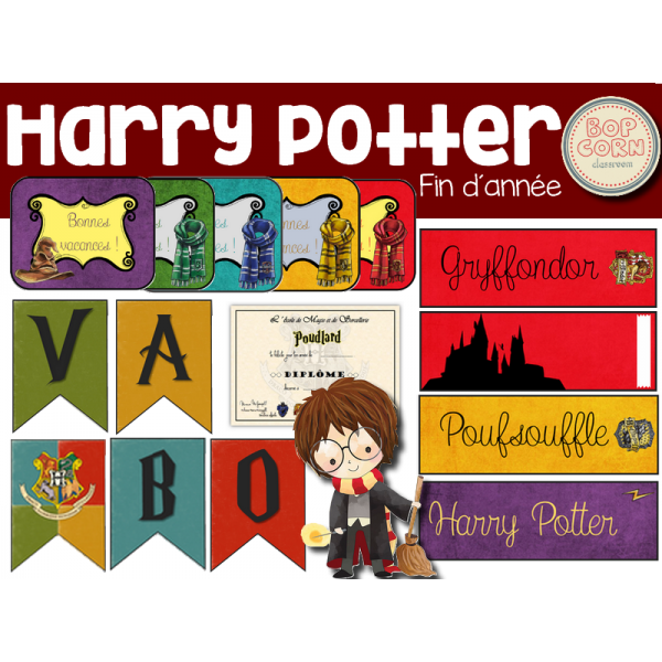 Fin d´année - Harry Potter (+Freebie)