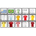 Memory Coupe du Monde 2018 - Football