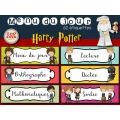 Harry Potter - Menu du jour - Emploi du temps
