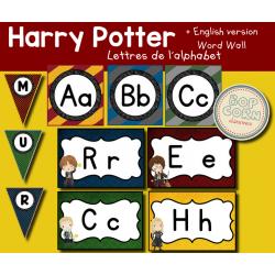 Mur de mots - Harry Potter - Word Wall