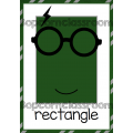 Affichages formes géométriques - Harry Potter
