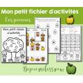 Mon petit fichier - Les pommes