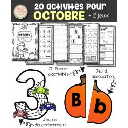 20 activités pour octobre - Halloween