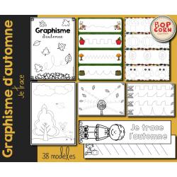 Graphisme d´automne - Je trace.