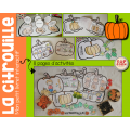 La citrouille - Petit livret interactif