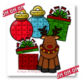 Puzzles de  Noel - multiplications