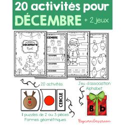Cahier d´activités - Décembre - Noël