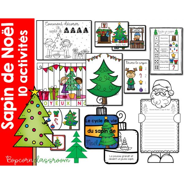 Sapin de Noël - 10 activités