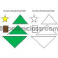 Les formes géométriques - Noël