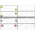 Graphisme du printemps - Je trace