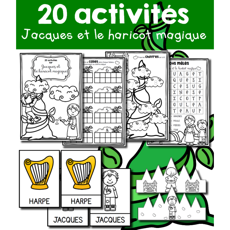 20 Activites Jack Et Le Haricot Magique