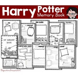 Harry Potter - My memory Book - End of year