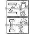 Alphabet - Lettres labyrinthes
