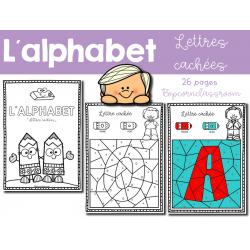 Alphabet - Lettres cachées