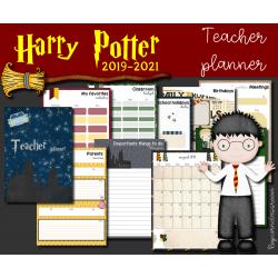 Harry Potter Teacher planner 2019 - 2021