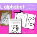 Alphabet - Lettres puzzles