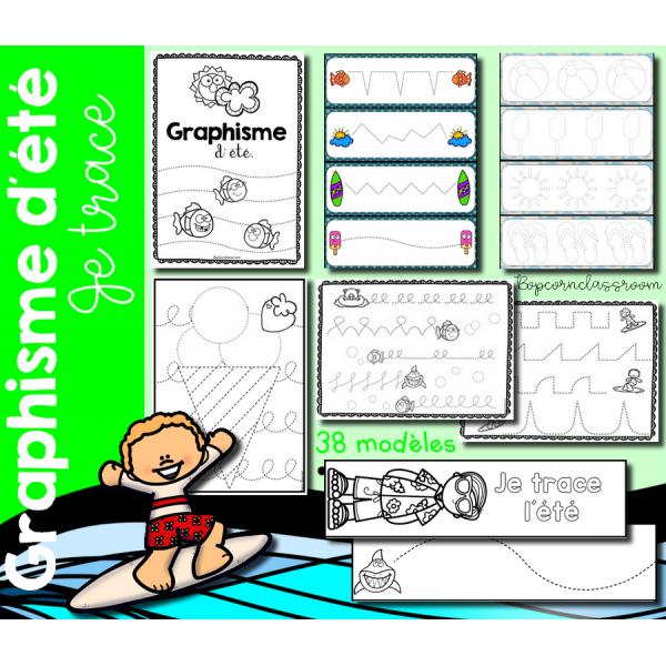 Graphisme d´été - Je trace