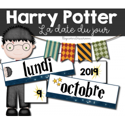 Harry Potter - La date du jour