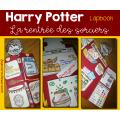 Lapbook Harry Potter - Rentrée des sorciers