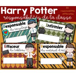 Responsabilités de la classe 2 - Harry Potter