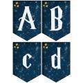 Bannières Harry Potter - 26 lettres