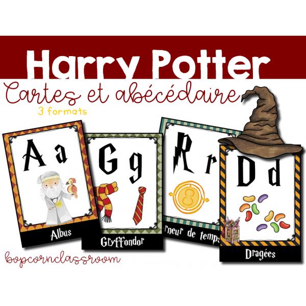 Abécédaire Harry Potter - Cartes et affichages