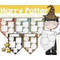 Fanions La rentrée des sorciers - Harry Potter