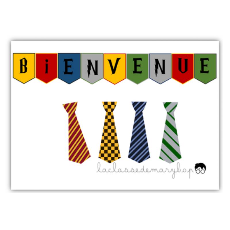 Harry Potter Banniere Et Cravates