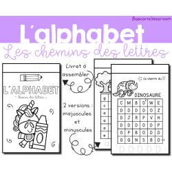 Alphabet - Chemins des lettres