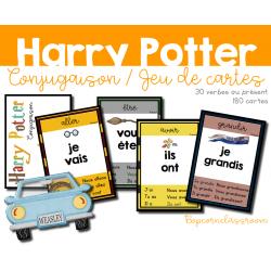 Harry Potter - Cartes - Conjugaison au présent