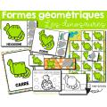 Formes géométriques - Les dinosaures