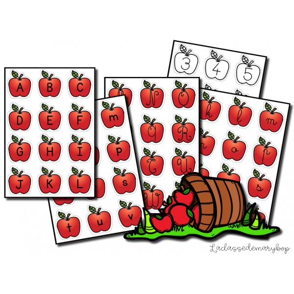 Alphabet Pomme