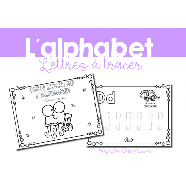 Alphabet - Lettres à tracer