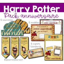 Harry Potter - Pack Anniversaire