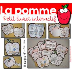 La pomme - Petit livret interactif