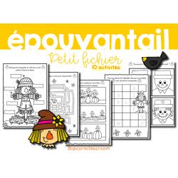 Épouvantail - Petit fichier - 10 activités