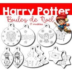 Harry Potter - Boules de Noël