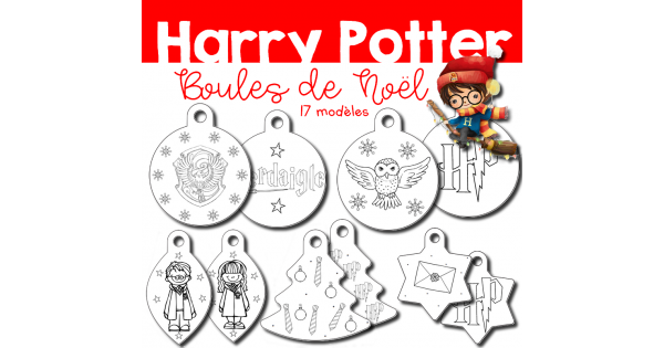 Harry Potter Boules De Noel