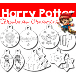 Harry Potter - Christmas Ornaments
