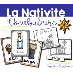 La Nativité - 15 mots de vocabulaire