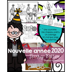 Nouvel an 2020 - Pack Fiesta - Harry Potter