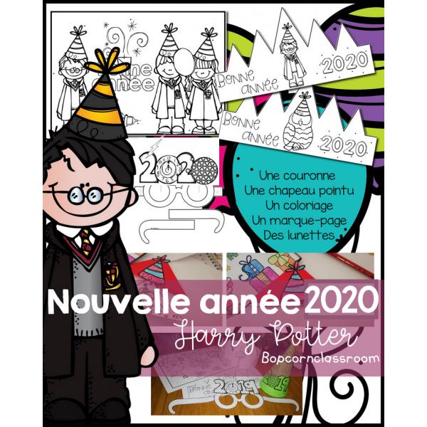 Nouvel an 2020 - Pack Fiesta - Harry Potter