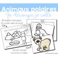 Atelier découpage - Animaux polaires
