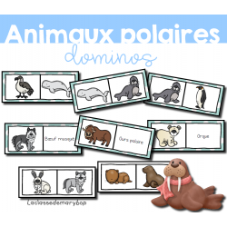 Animaux polaires - Dominos